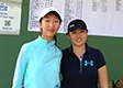 Yvonne Zheng punches her ticket for the LPGA's Symetra Tour at Victoria Hills in DeLand, Fla.